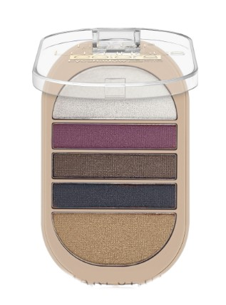 Тени для век DoDo Girl Luxurious Colors Eyeshadow Palette 4 цвета (Тон 02)