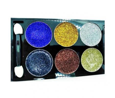Тени для век DoDo Girl Glitter Eyeshadow 6 Colors (тон 02)