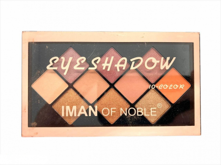 Тени для век Iman Of Noble Eyeshadow 10 цветов тон 01