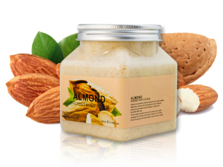 Скраб для тела с Миндалем Pretty Cowry Almond Sherbet Body Scrub 350мл