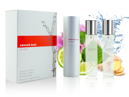 Armand Basi In Red EDT 3х20мл