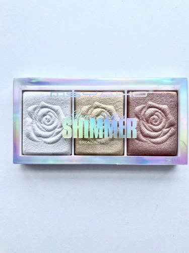 Хайлайтер MSYAHO Shimmer Highlighter 3 Color (тон 01)