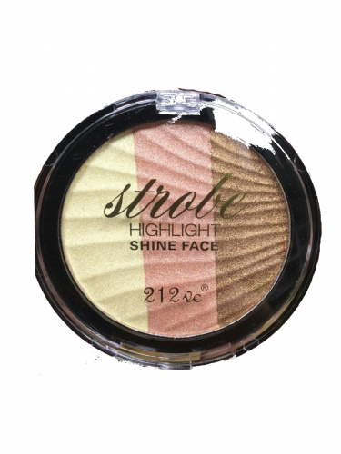 Палитра хайлайтеров Stobe Highlight Shine Face 3 color тон 02