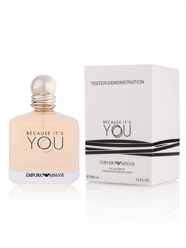 Тестер Emporio Armani Because It's You Giorgio Armani EDP 100мл
