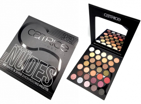 Палетка теней Catrice Cosmetics Chocolate Nudes (32 цвета)