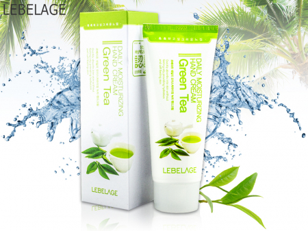 Крем для рук Lebelage с Зеленым чаем Green Tea Hand Cream