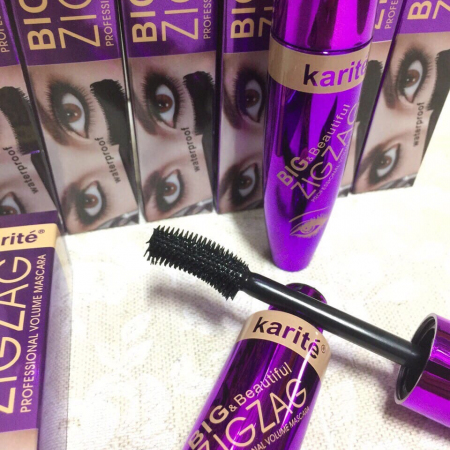 Тушь для ресниц KARITE Big & Beautiful Zig Zag Mascara