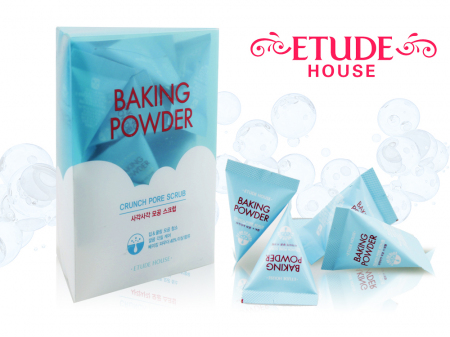 Скраб для лица Etude House Baking Powder Crunch Pore Scrub 7гр 24шт