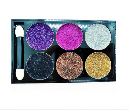 Тени для век DoDo Girl Glitter Eyeshadow 6 Colors (тон 03)