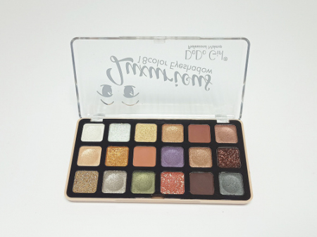 Тени для век DoDo Girl Luxurious 18 color Eyeshadow тон 01