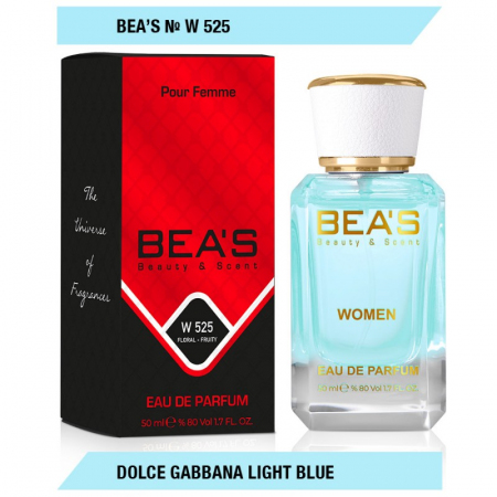 Мини парфюм Bea`s W-525 Dolce Gabbana Light Blue EDP 50мл