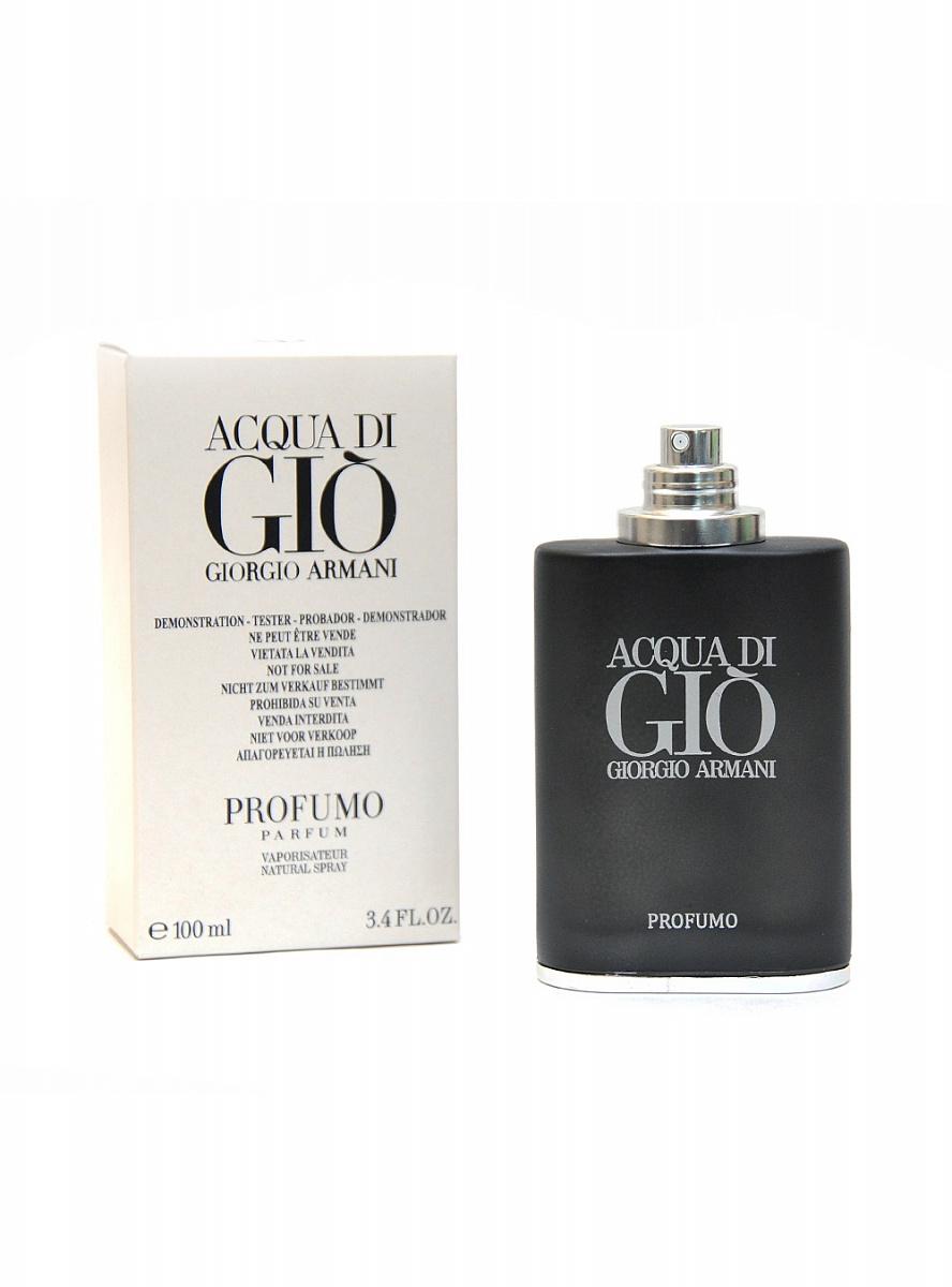 купить тестер Giorgio Armani Acqua Di Gio Profumo 100мл за 1 590 руб